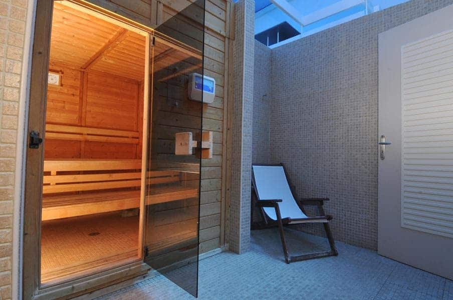 sauna aegialis Hotel & spa